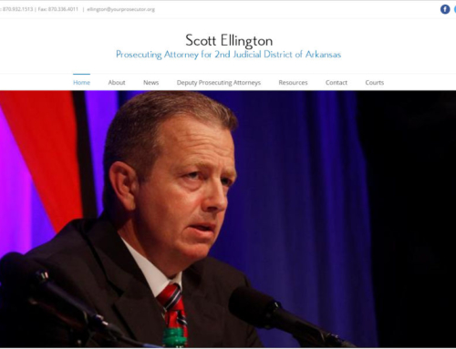 Scott Ellington, Prosecutor