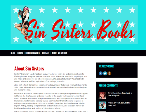 Sin Sisters Books
