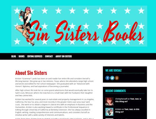 Sin Sisters Books
