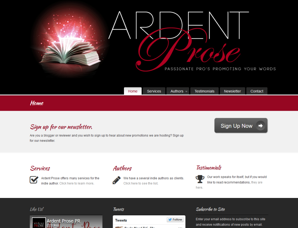 Ardent Prose