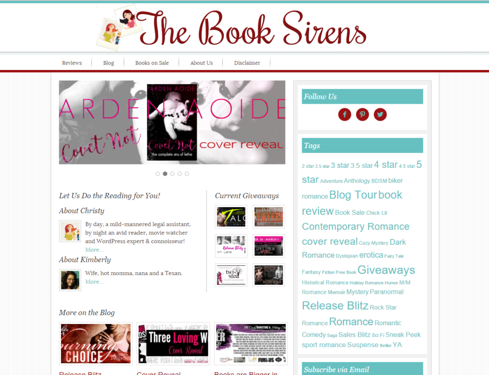 The Book Sirens