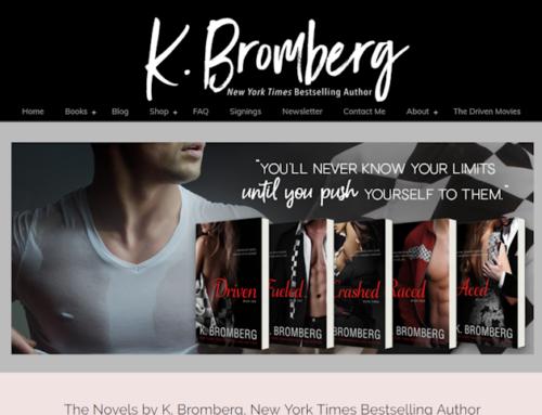 K Bromberg, Author